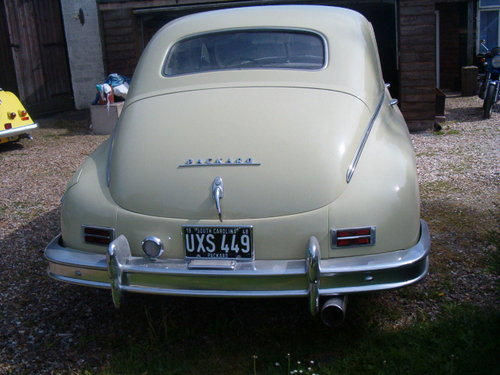 Packard 8 1948 manual 3 speed LHD PRICE RECUCED For Sale (picture 3 of 6)