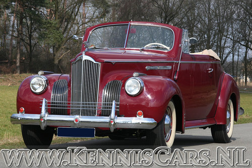 Packard 1941 Victoria 110 Convertible For Sale (picture 1 of 6)