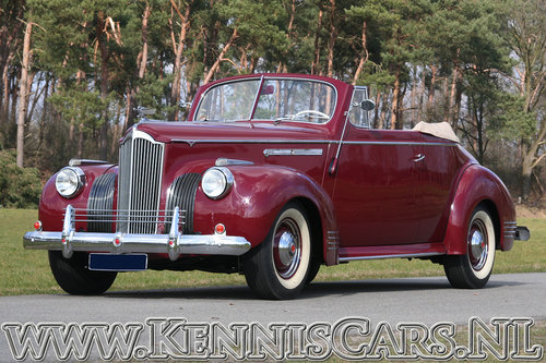 Packard 1941 Victoria 110 Convertible For Sale (picture 2 of 6)