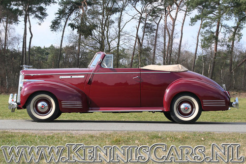 Packard 1941 Victoria 110 Convertible For Sale (picture 3 of 6)
