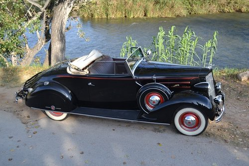 1935 Packard 120 series sport cabriolet For Sale (picture 2 of 6)