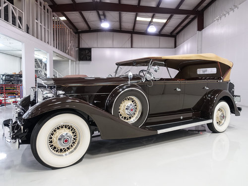 1933 Packard Model 1004 Super Eight Touring SOLD (picture 1 of 6)