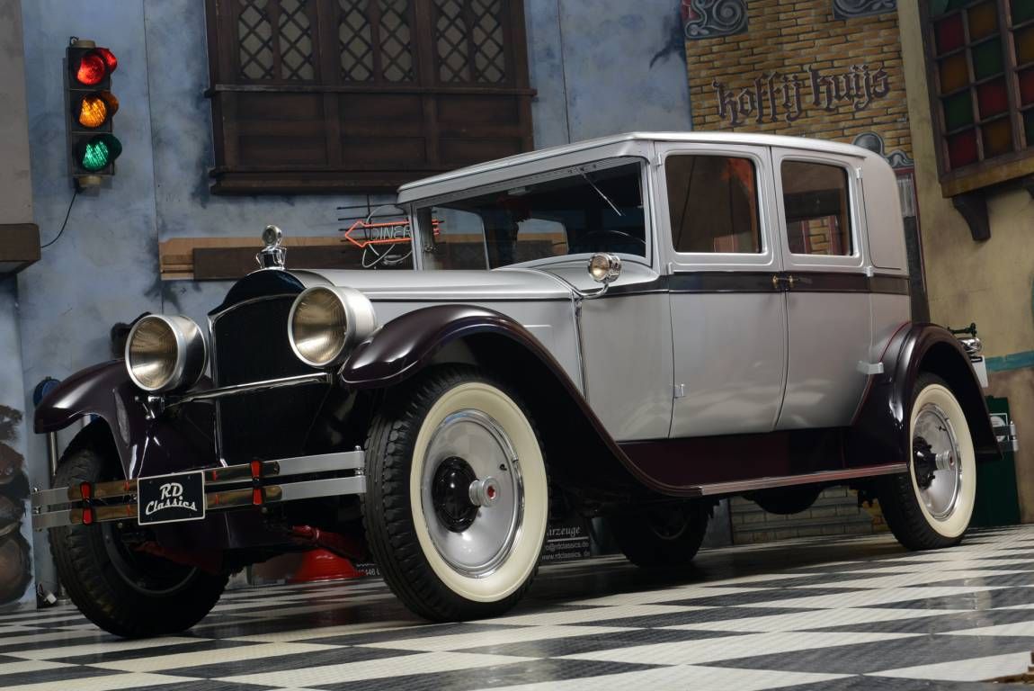1928 Packard 443 Club Sedan / Top Restauriert For Sale (picture 1 of 6)