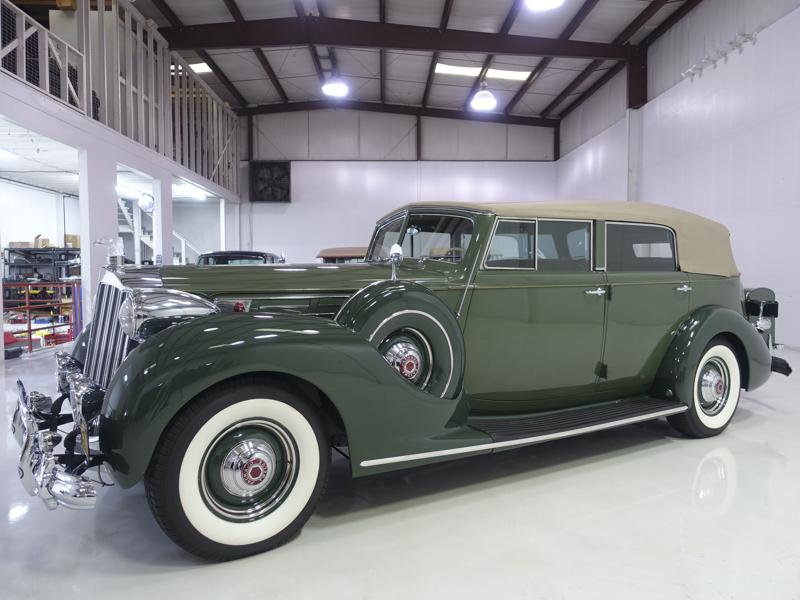 1939 Packard Twelve Convertible Sedan For Sale (picture 1 of 6)