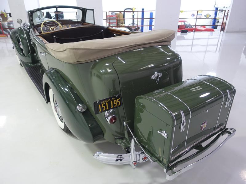 1939 Packard Twelve Convertible Sedan For Sale (picture 2 of 6)