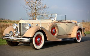 Packard Eight Series 1101 Coupe Roadster 1934 for sale