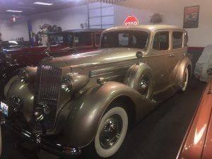 1937 Packard Caribbean = Pebble Beach Car + Rare  $95k For Sale