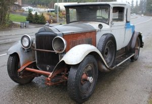 1929 Packard 640 Coupe = Project Dives Needs Restro $obo For Sale