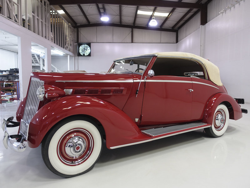 1937 Packard 115-C Coachbuilt Cabriolet by Graber For Sale (picture 1 of 6)