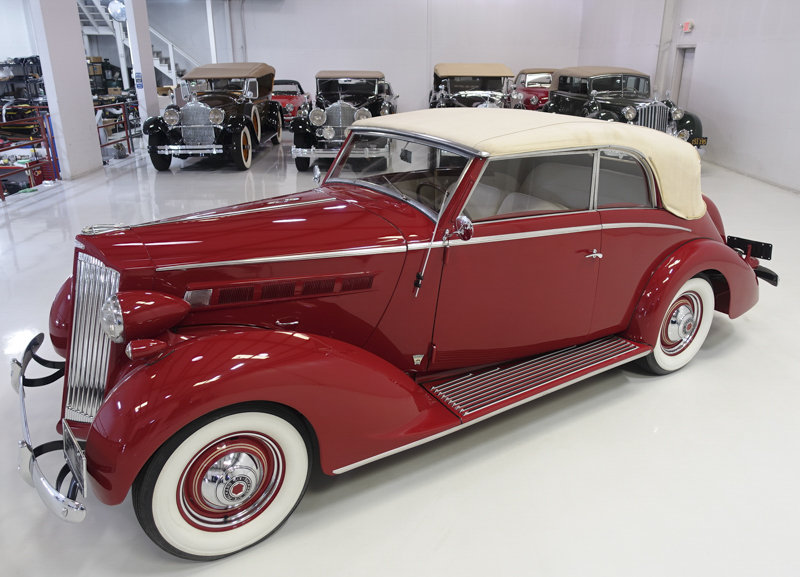 1937 Packard 115-C Coachbuilt Cabriolet by Graber For Sale (picture 2 of 6)