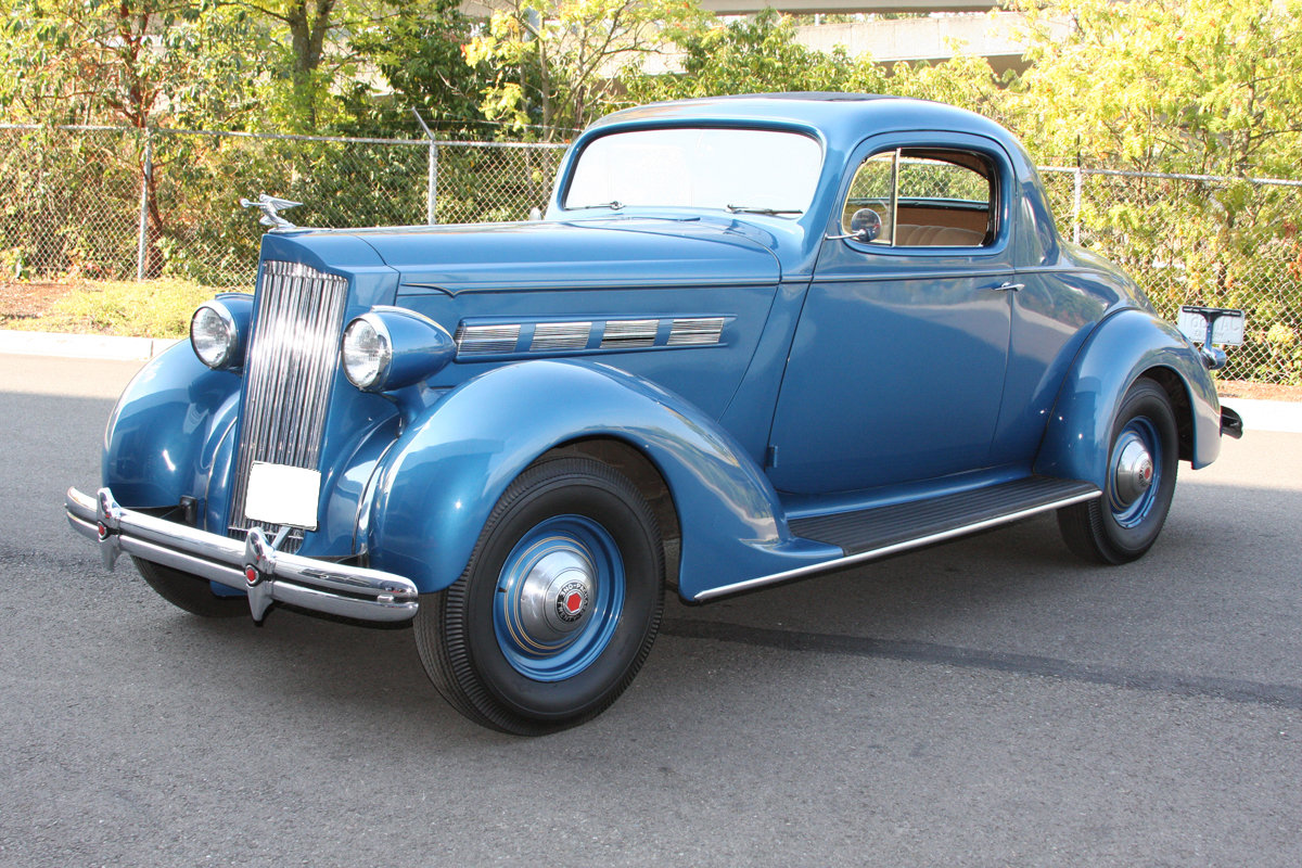 1937 Packard 120 C Business Coupe For Sale by Auction (picture 1 of 6)