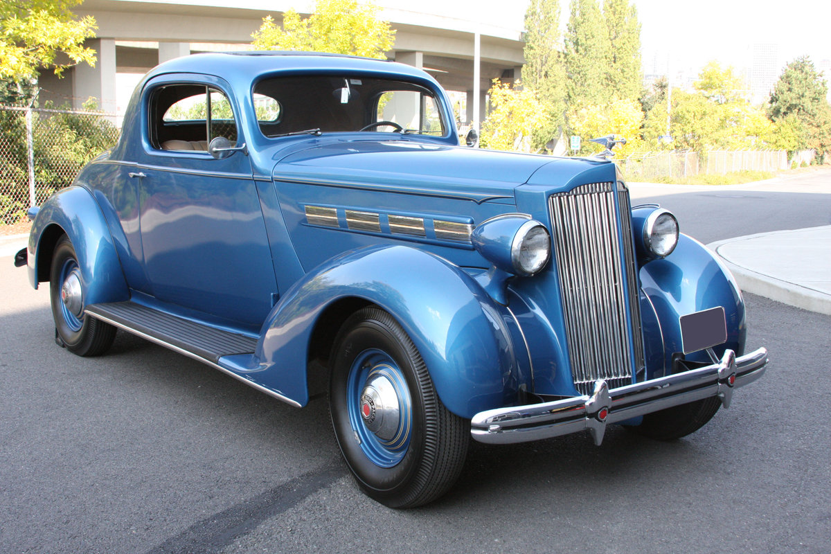 1937 Packard 120 C Business Coupe For Sale by Auction (picture 3 of 6)