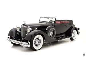 1934 PACKARD TWELVE VICTORIA CONVERTIBLE For Sale