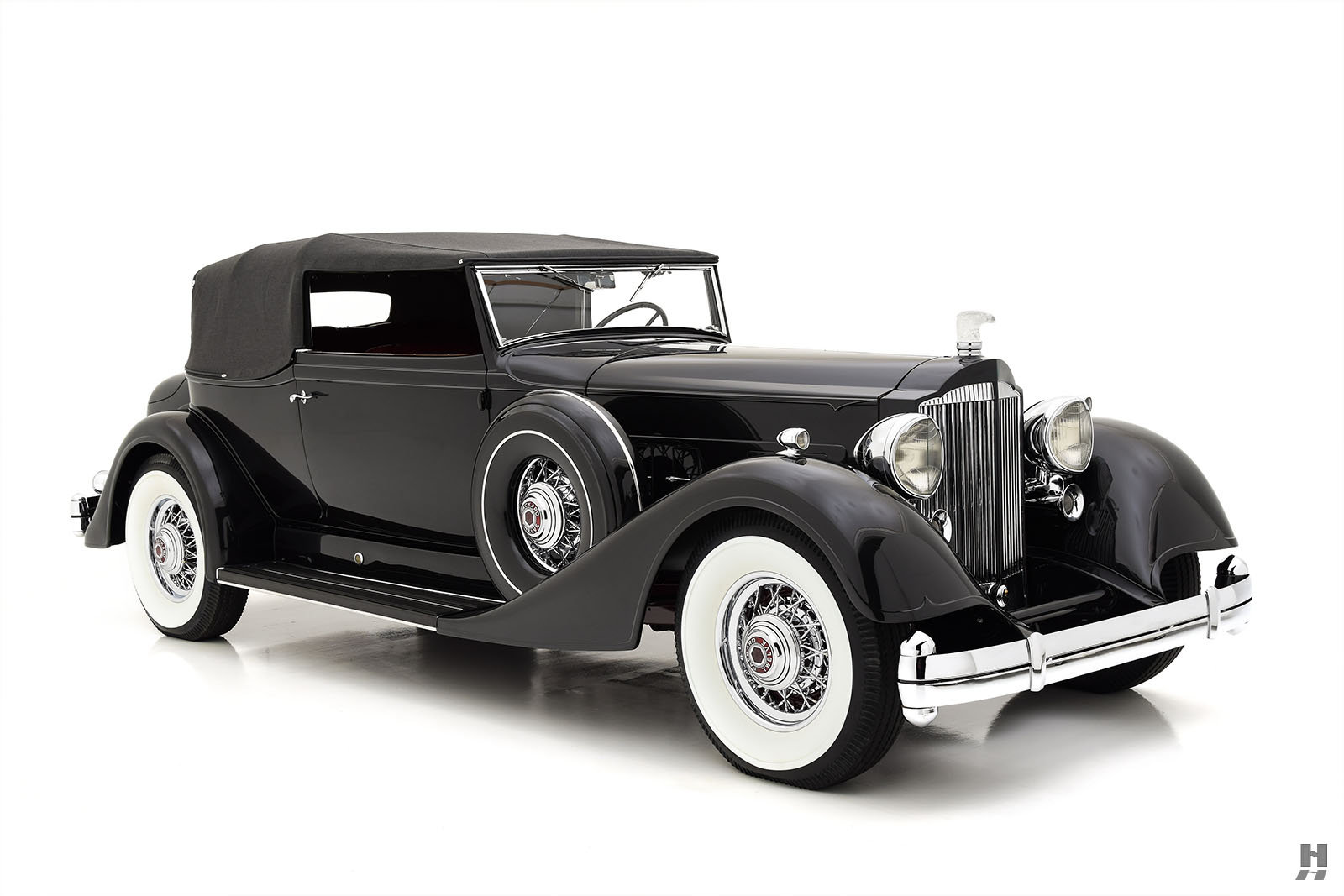 1934 PACKARD TWELVE VICTORIA CONVERTIBLE For Sale (picture 2 of 6)