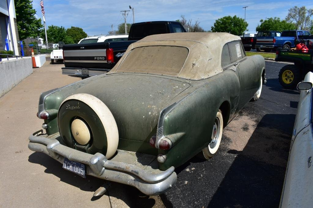 1953 Packard Carribean Convertible $37600 USD For Sale (picture 6 of 6)