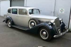 1937 Packard Super 8 Touring Limousine For Sale by Auction