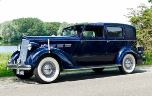 Packard Model 120-C Towncar by Rollston 1937 For Sale