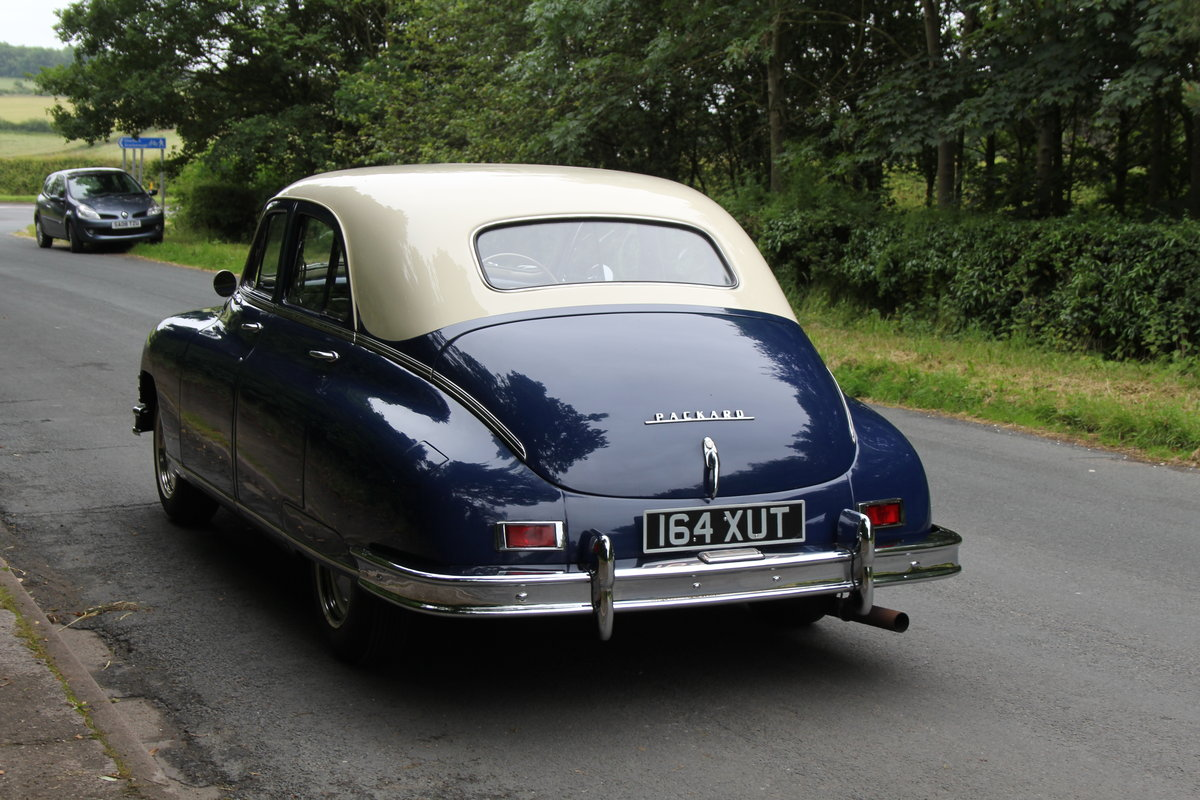 1948 Packard 22nd Series Touring Sedan For Sale (picture 4 of 12)