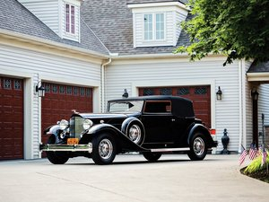 1933 Packard Twelve Convertible Victoria  For Sale by Auction