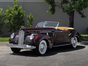 1941 Packard Custom Super Eight One Eighty Convertible Victo For Sale by Auction