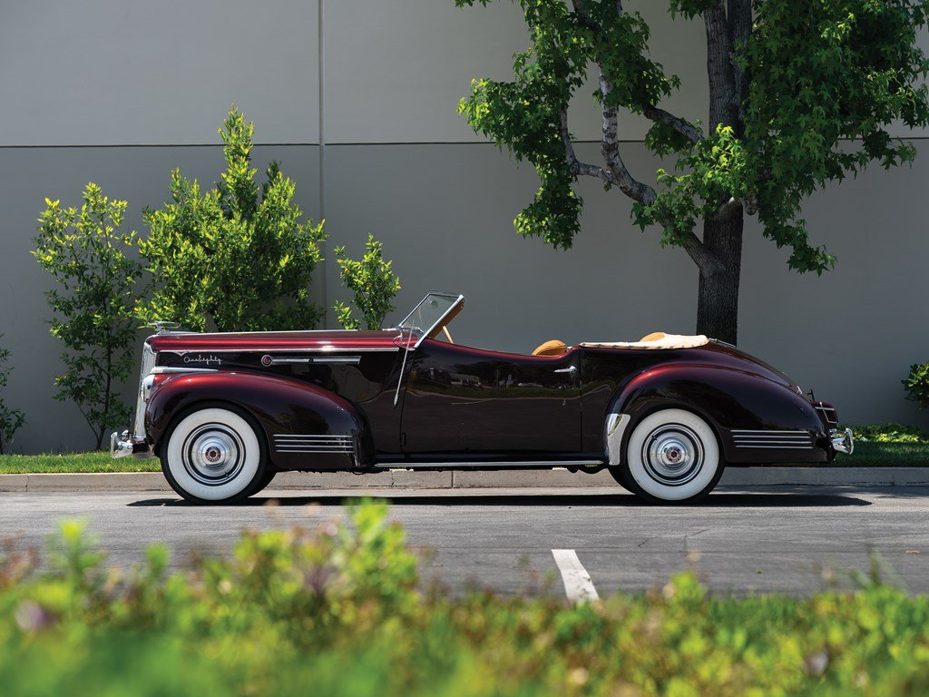 1941 Packard Custom Super Eight One Eighty Convertible Victo For Sale by Auction (picture 5 of 6)