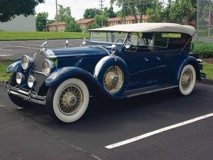 1929 Packard Custom Eight Dual-Cowl Phaeton  For Sale by Auction