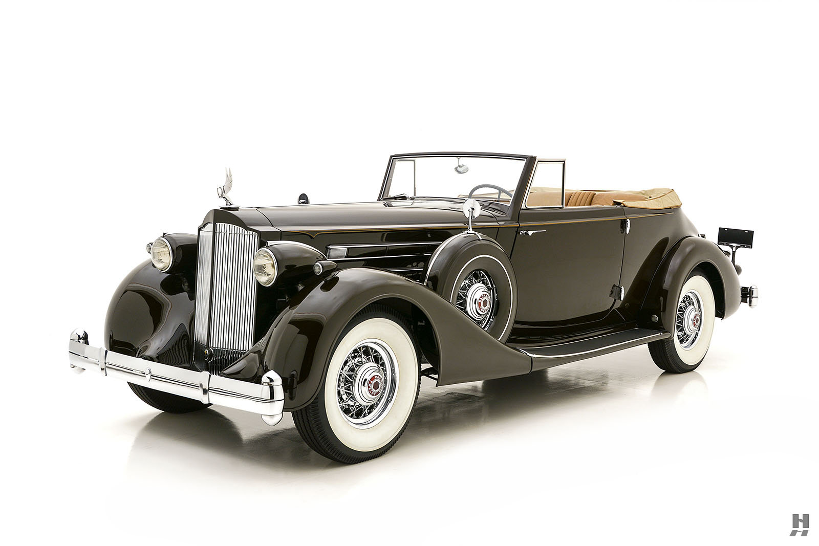 1935 PACKARD TWELVE CONVERTIBLE VICTORIA For Sale (picture 1 of 6)