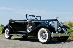 1933 Packard Super Eight Convertible Victoria For Sale