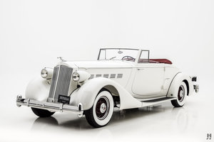 1936 Packard Super Eight Coupe Roadster For Sale