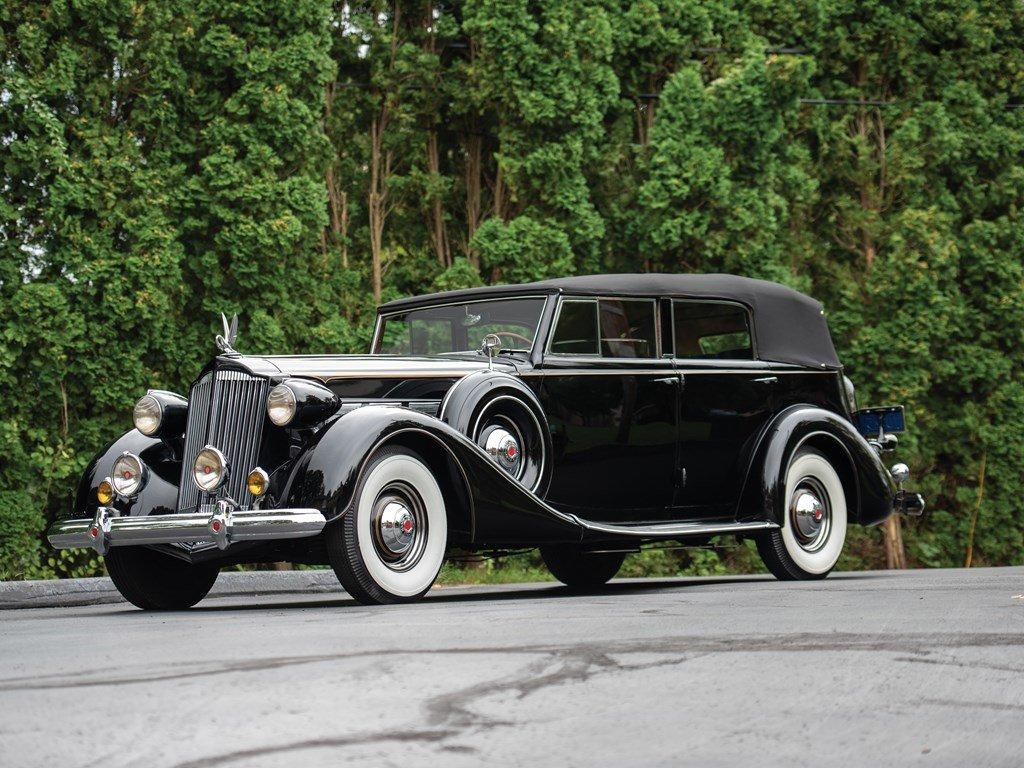 1937 Packard Super Eight Convertible Sedan by Dietrich For