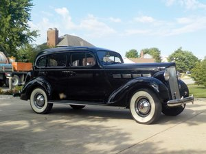 1937 Packard One Twenty Touring Sedan  For Sale by Auction