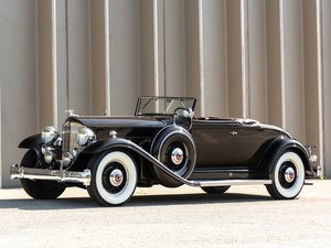 1932 Packard Twin Six Coupe Roadster  For Sale by Auction