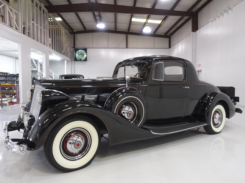 1937 Packard Super Eight Rumble Seat Coupe SOLD (picture 1 of 6)