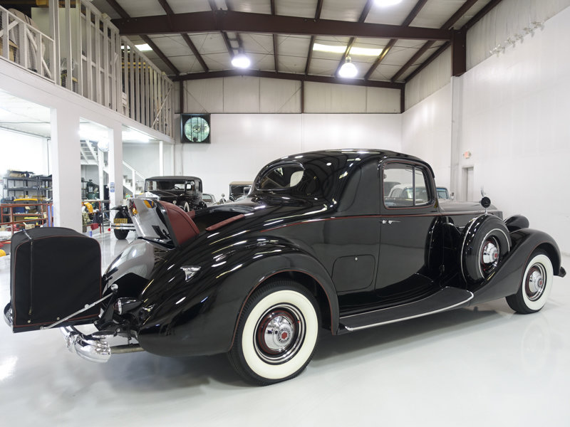 1937 Packard Super Eight Rumble Seat Coupe SOLD (picture 2 of 6)