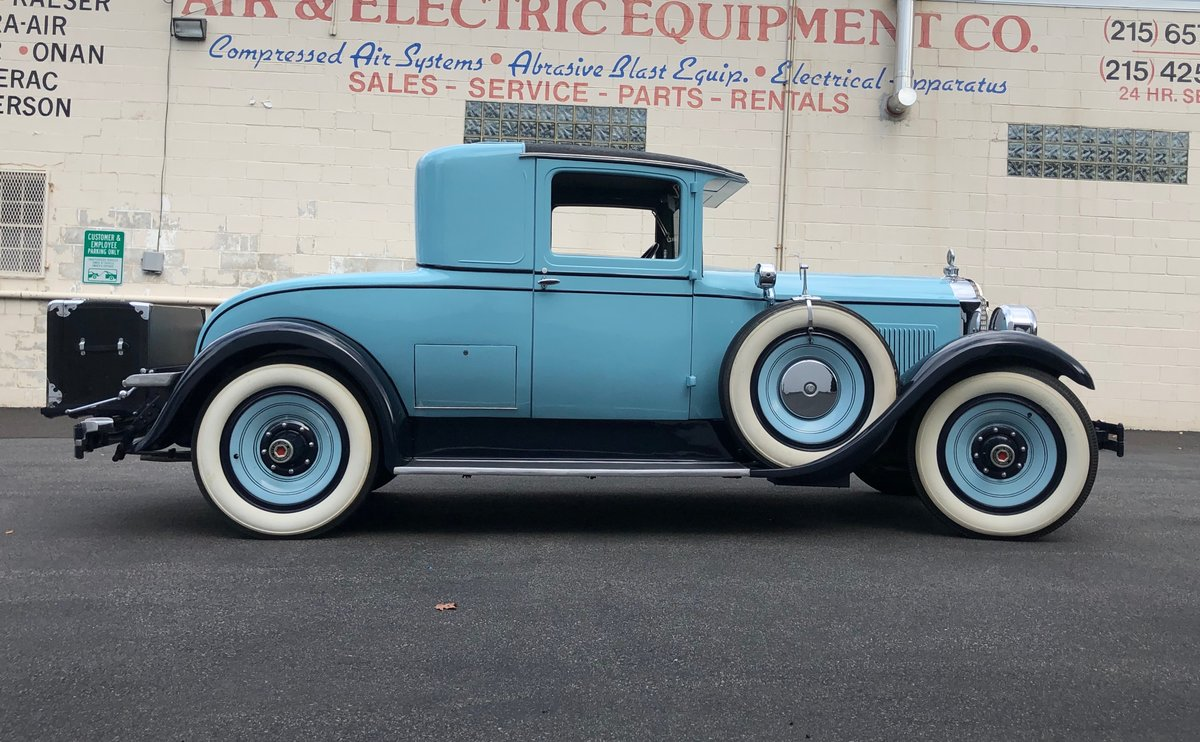 1928 Packard 528 Rumble Seat Coupe For Sale (picture 1 of 6)
