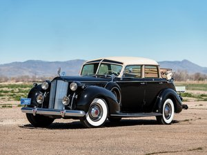 1938 Packard Twelve Touring Cabriolet by Brunn For Sale by Auction