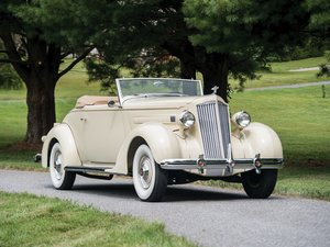 1936 Packard 120-B Convertible Coupe