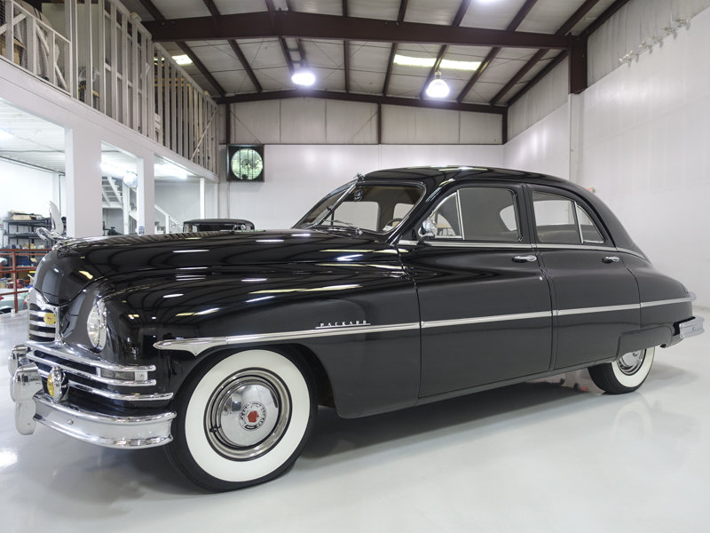 1950 Packard Deluxe Eight Touring Sedan For Sale (picture 1 of 6)