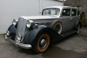 1936 Packard Super 8 Touring Limousine For Sale by Auction