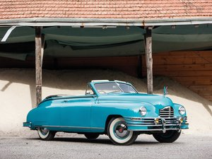 1948 Packard Super Eight Convertible Victoria  For Sale by Auction