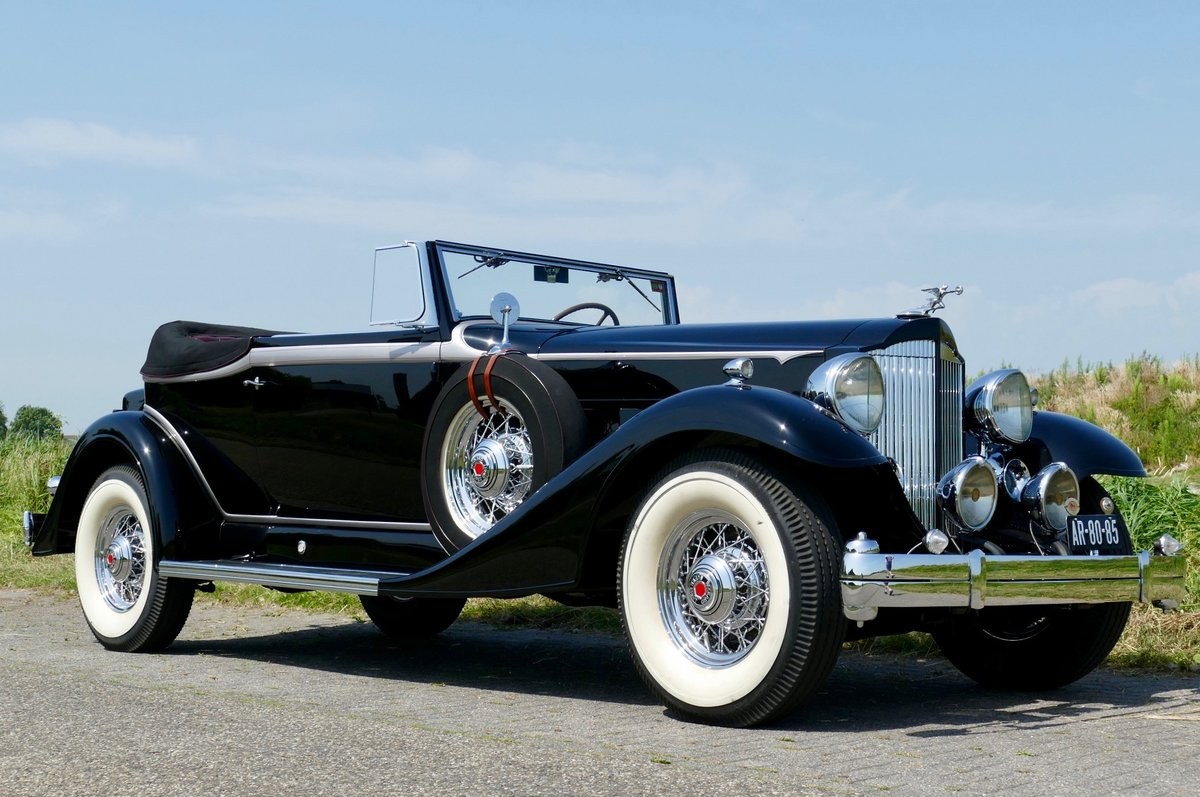 Packard Super Eight Convertible Victoria 1933 For Sale (picture 1 of 6)