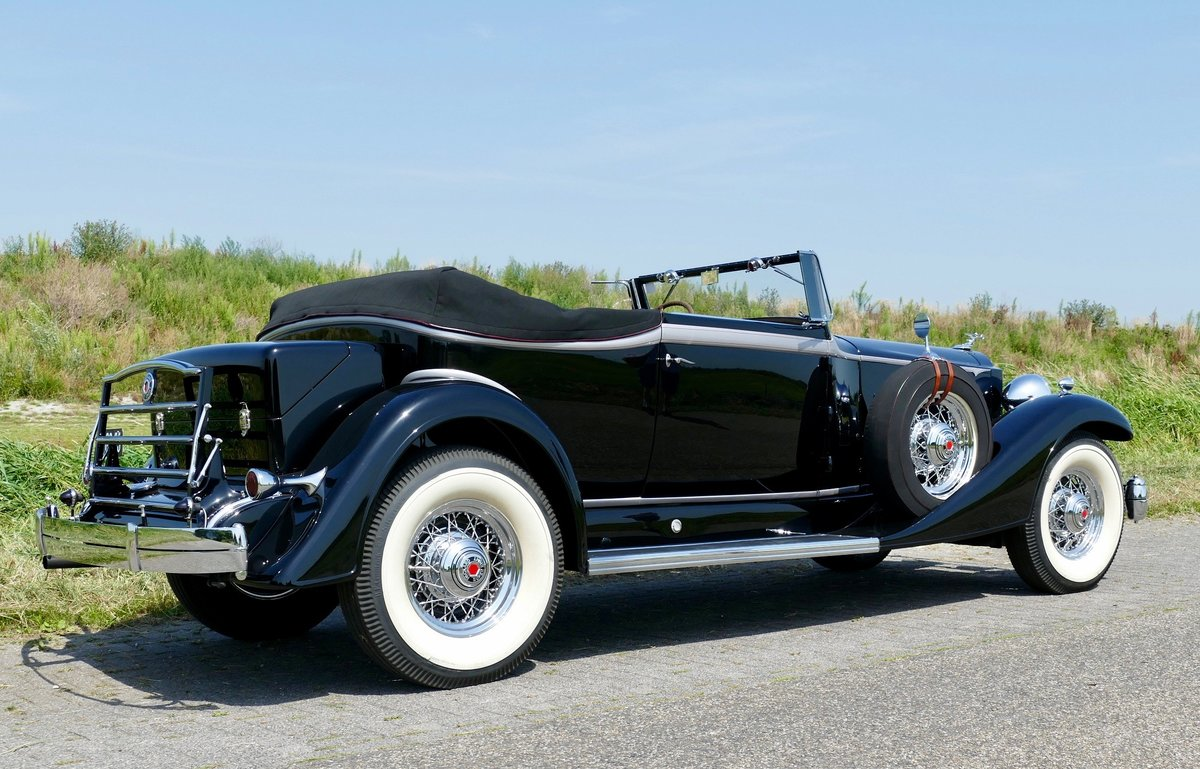 Packard Super Eight Convertible Victoria 1933 For Sale (picture 2 of 6)