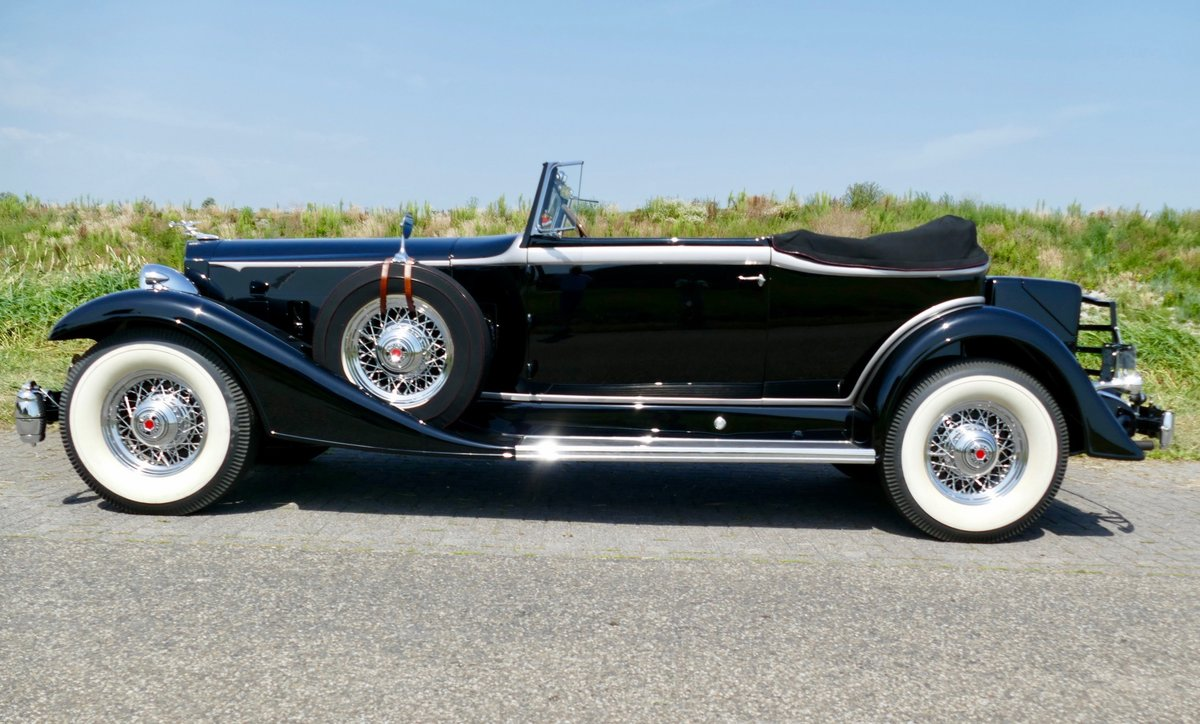 Packard Super Eight Convertible Victoria 1933 For Sale (picture 3 of 6)