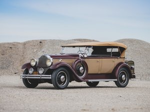 1931 Packard Model 833 Dual-Cowl Sport Phaeton  For Sale by Auction