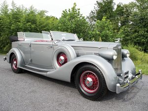 1935 Packard Eight Dual-Cowl Sport Phaeton  For Sale by Auction