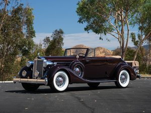 1935 Packard Twelve Convertible Victoria  For Sale by Auction