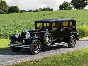 1930 Packard Custom Eight Limousine  For Sale by Auction