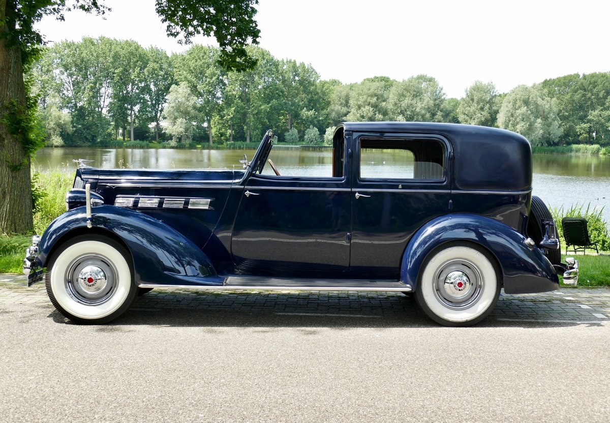 Packard Model 120-C Towncar by Rollston 1937 For Sale (picture 6 of 6)