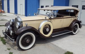 Packard 733 Standard Eight Sport Phaeton Dual