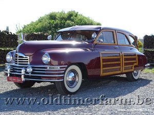 Packard Eight Woody Wagon '47